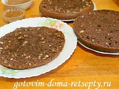 шоколадный торт в мультиварке 12