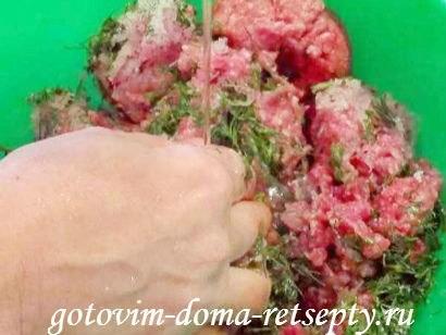 чебуреки с мясом, тесто для рецепта 5
