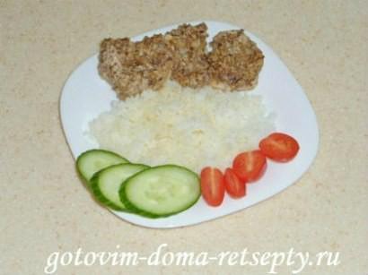 куриное филе с орехами, запеченное в духовке 01