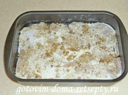 куриное филе с орехами, запеченное в духовке 41
