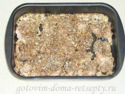 куриное филе с орехами, запеченное в духовке 51