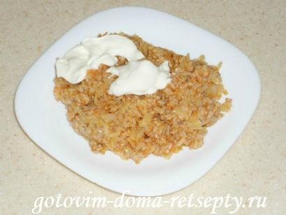 ленивые голубцы, рецепт на сковороде