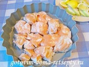 куриная грудка с яблоками и черносливом 6
