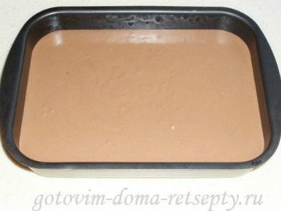 шоколадный торт из печенья и желе 11