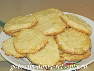 песочное сахарное печенье бриллиантовое 12