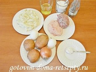 картофельные драники с фаршем 1