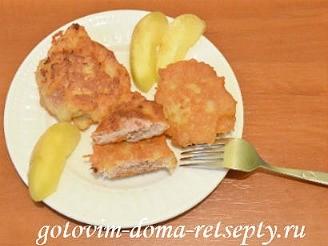 картофельные драники с фаршем 10