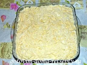 картошка по-французски в духовке, рецепт с курицей 10