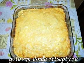 картошка по-французски в духовке, рецепт с курицей 11
