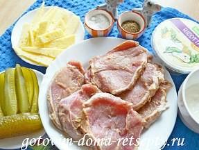 рулетики из свинины с сыром 1