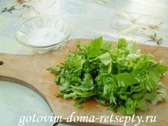 Греческий салат с брынзой, рецепт 3