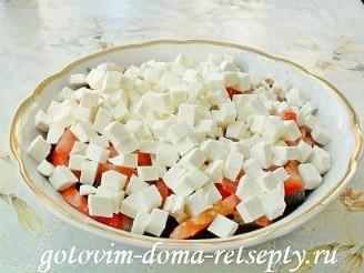 Греческий салат с брынзой, рецепт 9
