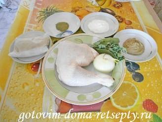 окорочка в горчичном соусе, в духовке 1