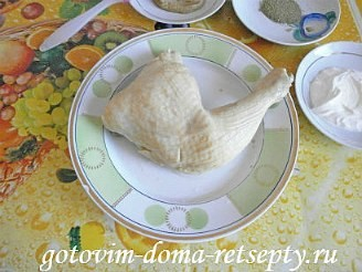 окорочка в горчичном соусе, в духовке 6