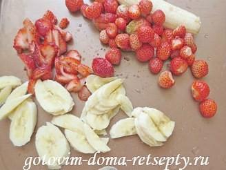 пирог с творогом и фруктами 14