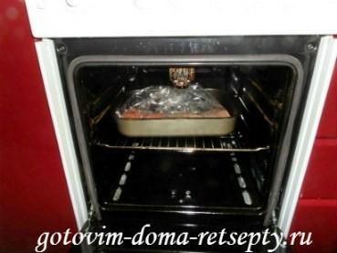 красная рыба запеченная в духовке 8