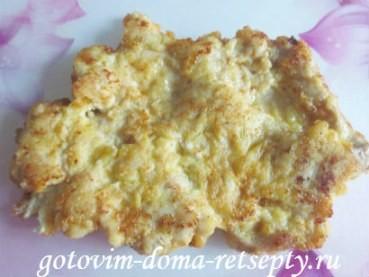 куриные отбивные под сырной шубой 9