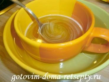 творожный десерт с желатином и маком 11