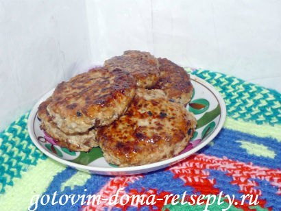 ленивые куриные зразы с сушеными грибами 12