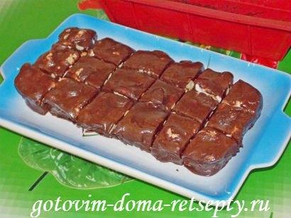шоколадная помадка из какао с орехами 1
