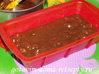 шоколадная помадка из какао с орехами 10