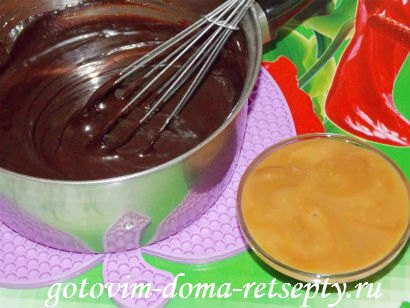 шоколадная помадка из какао с орехами 6