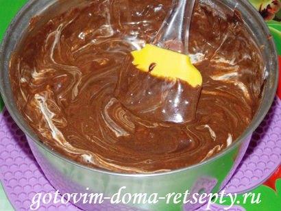 шоколадная помадка из какао с орехами 9