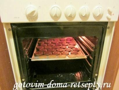 шоколадное печенье пуговки 16