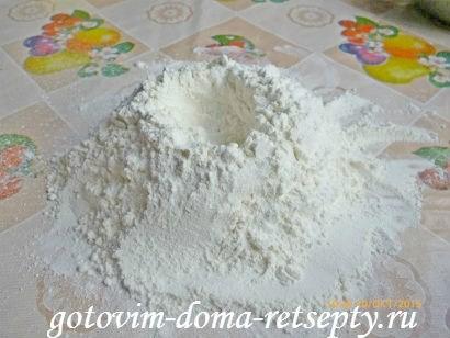 тертый пирог из песочного теста в мультиварке с яблочным пюре 2
