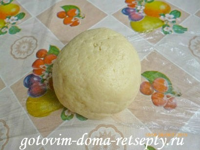 тертый пирог из песочного теста в мультиварке с яблочным пюре 5