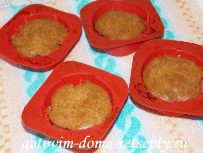 кексы с яблоками 12