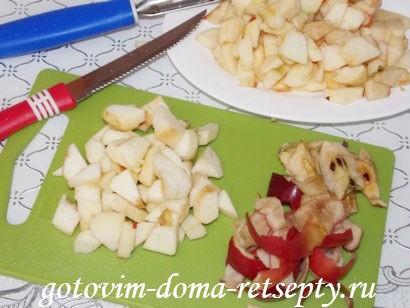 кексы с яблоками 4