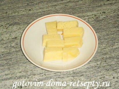 слоеные конвертики с сыром или творогом из готового теста 3