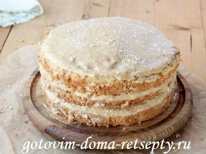 бисквитный торт с кремом 14