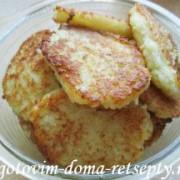 драники из картофеля без яиц и муки