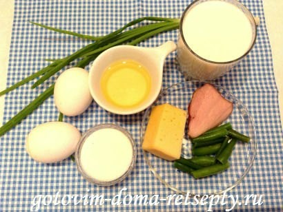 омлет рецепт с молоком 1