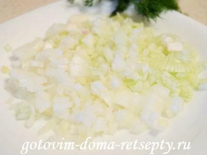 теплый салат с грибами картофелем 4