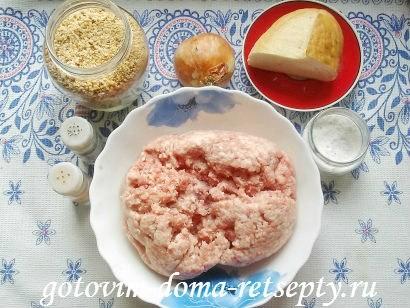котлеты из свиного фарша с томатной подливой 1