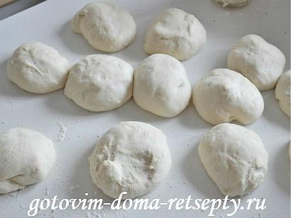 постные пирожки с начинкой 16