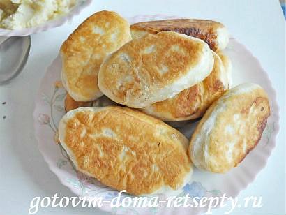 постные пирожки с начинкой