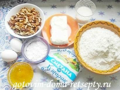 трубочки рецепт с ореховой начинкой 1