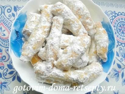 трубочки рецепт с ореховой начинкой 17