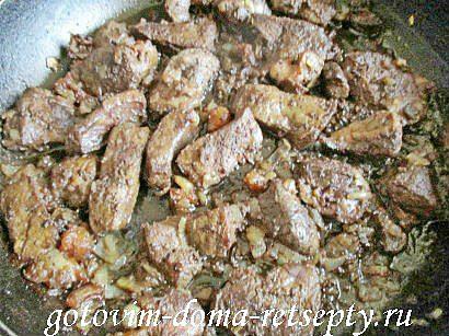 паштет из печени со шкварками 7