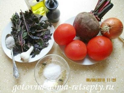 свекольник холодный рецепт с фото 2
