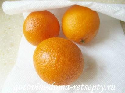 тонкие блинчики на молоке с апельсиновым кремом 5