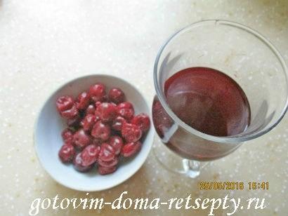 торт брауни с фруктами и ягодами 2