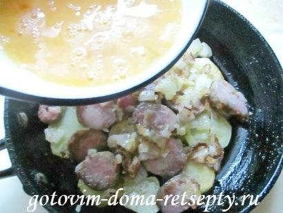 омлет с колбасой по рецептам испанской кухни 9