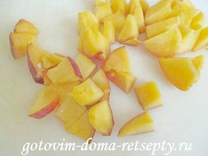запеканка из творога рецепт с фруктами и ягодами 6