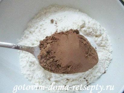 творожные кексы, рецепт с шоколадом 8