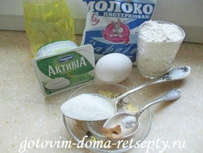блины на йогурте с корицей 1